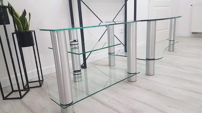 Ława szklana i stolik pod telewizor okazja