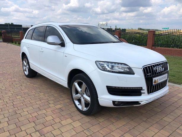 Auto do Ślubu Audi Q7 Białe