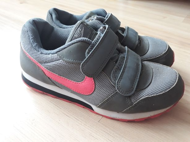 Adidasy Nike rozm.33 szaro różowe dł.wkladki  20.5 cm