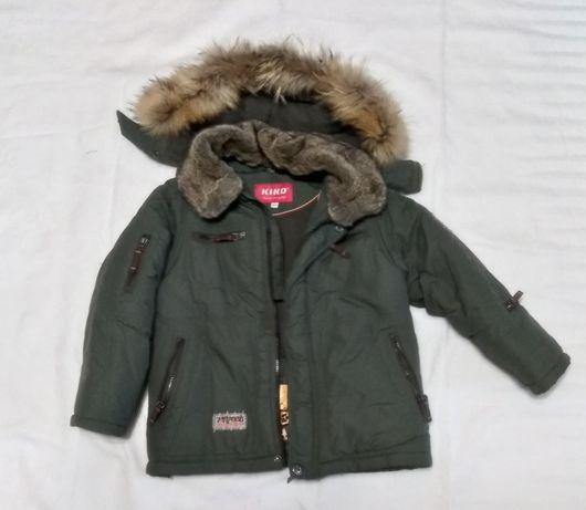 Зимняя куртка для мальчика Kiko