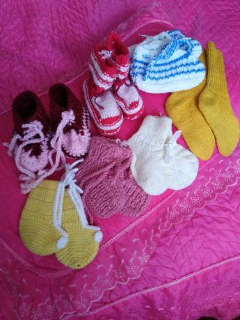 Пинетки, носки детские