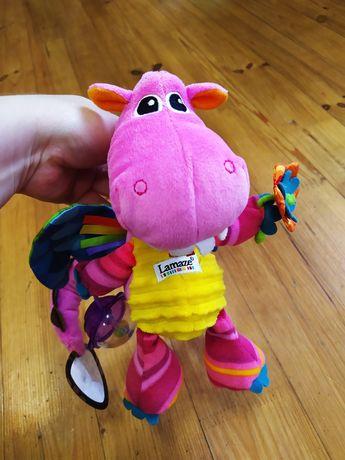 Подвесная развивающая игрушка погремушка Lamaze дракончик