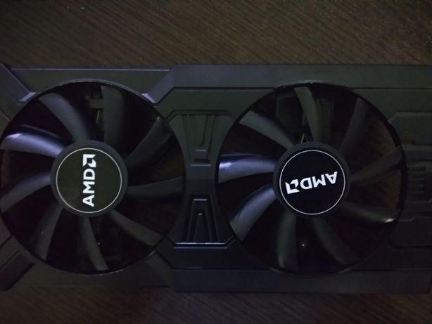 Вентилятори, кулери  охолодження, відеокарт PowerColor RX470, RX 570