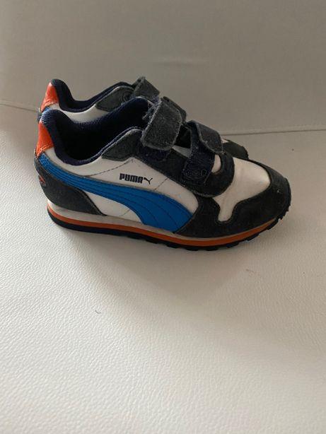 Adidasy Puma chłopięce rozmiar 29 prawie nowe