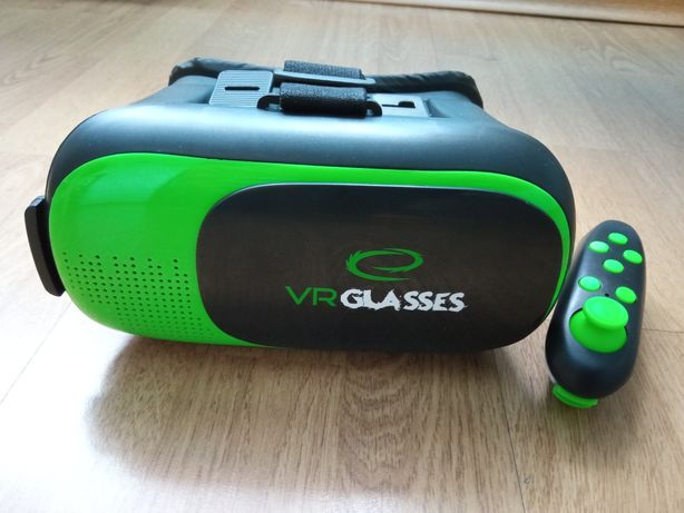 Okulary VR 3D Esperanza Doom + kontroler Bluetooth gratis!