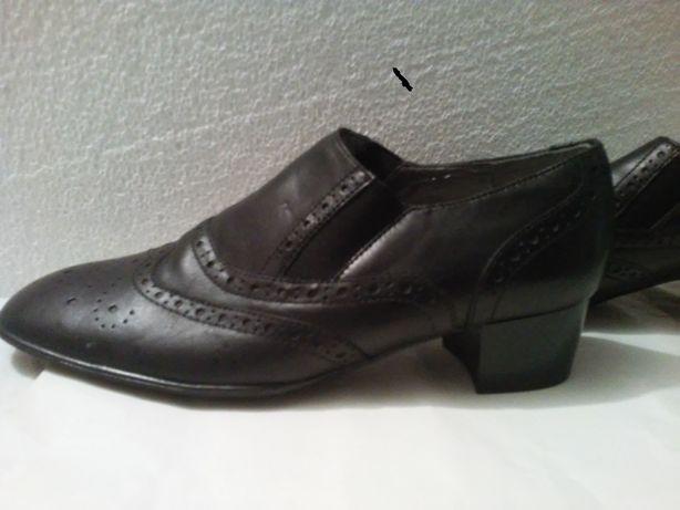 buty czółenka wsuwane, z gumkami z boku; NOWE roz. 39 Jenny by Ara