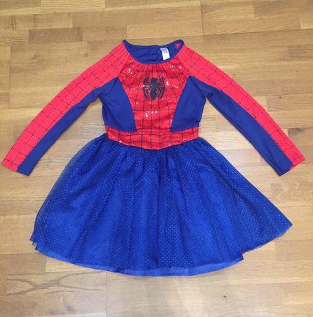 Платье Девочка паук на 7-8 лет