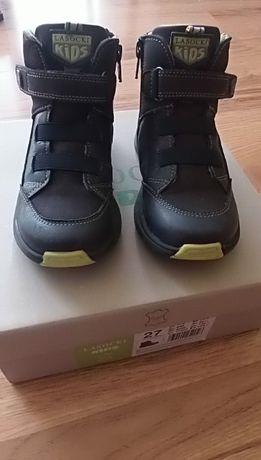 Buty chłopięce trzewiki półbuty skórzane Lasocki, r. 27