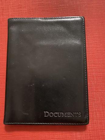 Продам кожаную обложку для документов водительского удостоверения