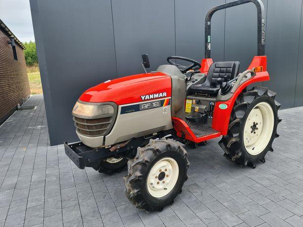 Mini traktor Yanmar Af18 wspomaganie,rewers 18KM,mały traktorek,