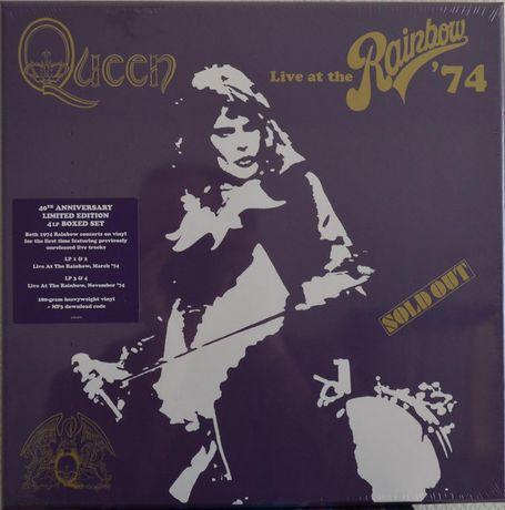 QUEEN Live At The Rainbow 74 Box 4 x Winyl Super Deluxe Folia Okazja