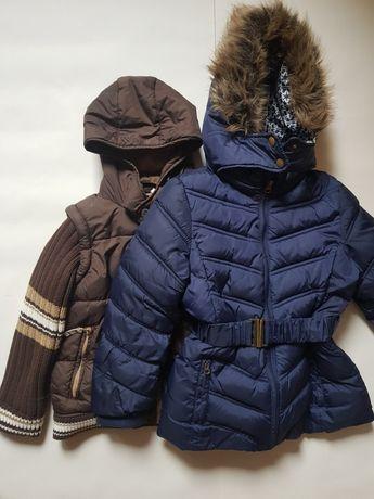 Курточки зимние , состояние прекрасное