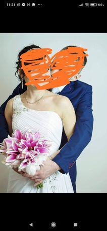 suknia ślubna 36 rozm s piękna styl hiszpański