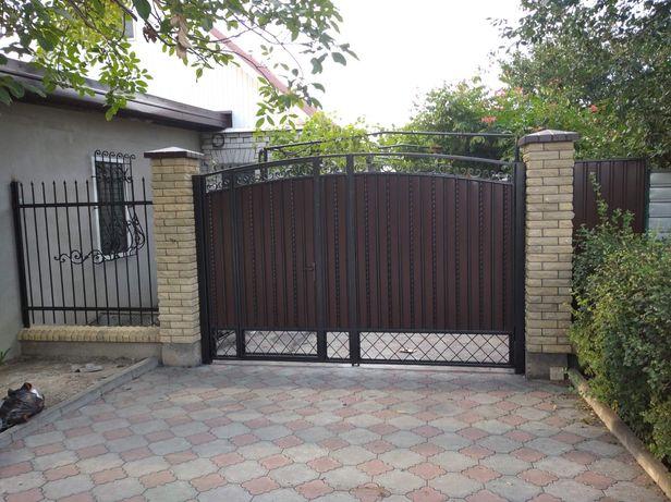 Навес,ворота,забор,калитка