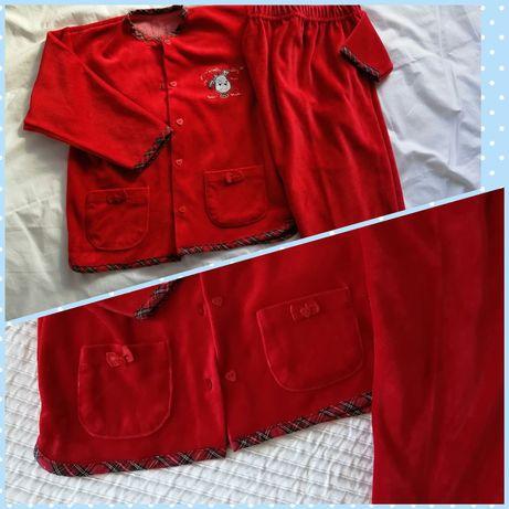 Pijama veludo t4