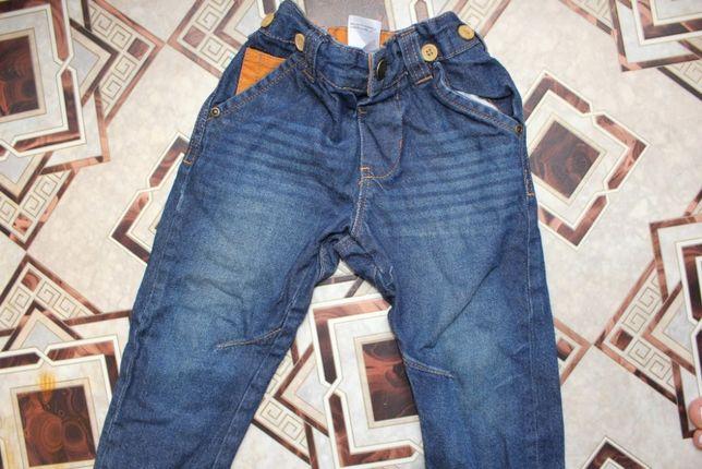 Штаны джинсы брюки на 2-3 года модные на мальчика