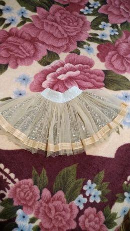 Нарядная юбка, фатиновая юбочка