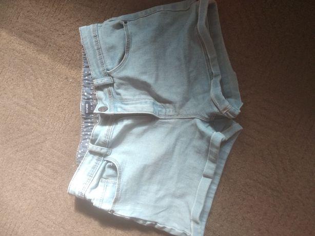 Шорты джинсовые,джинс
