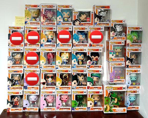 Funko Pop DragonBall Coleção