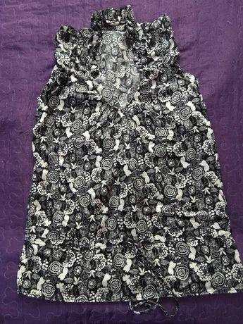 Блузка на короткий рукав