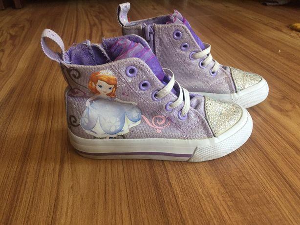 Обувь-кеды принцеса София