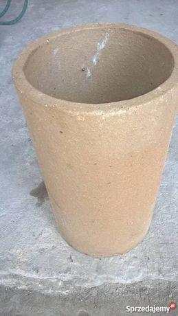 Schiedel Rura ceramiczna 140 mm 14 cm komin wkład + wełna