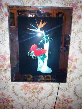 Картина с подсветкой/светильник/ночник