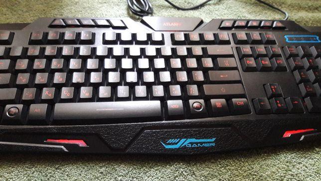 Игровая проводная клавиатура M200 (3 вида подсветк