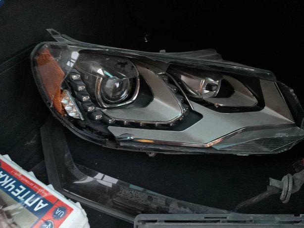 Фара передняя правая под разбор Ксенон Volkswagen Touareg NF 2010+