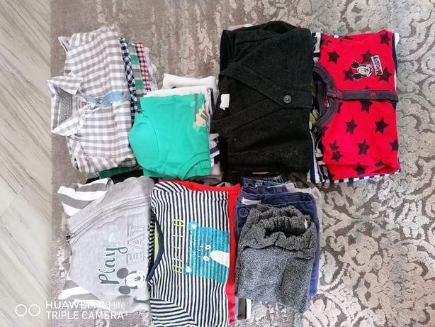 Paka ubran dla chłopca 68 na jesień