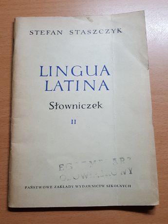 LINGUA LATINA, podręcznik języka łacińskiego dla kl. IX, słowniczek