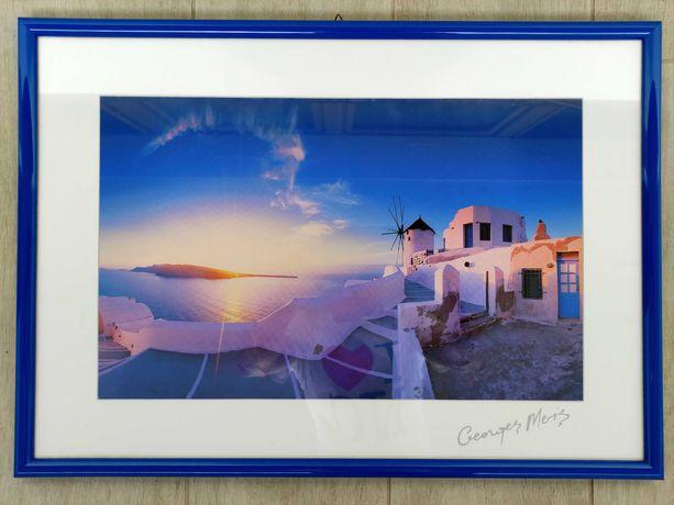Grecja Santorini obraz wakacyjny