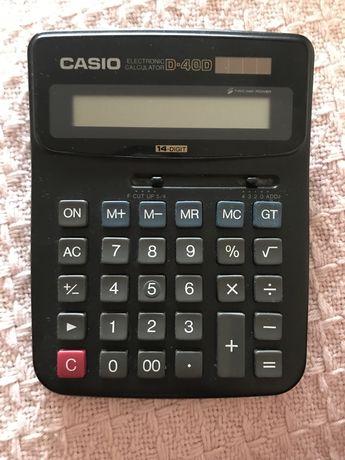 Калькулятор Casio D-40D