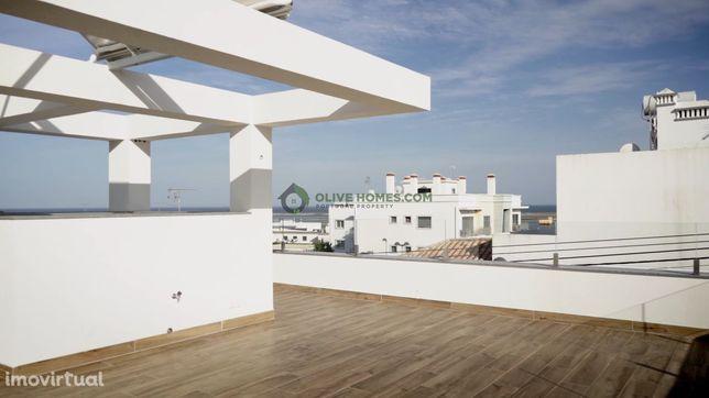 3 camas Seaview townhouse Fuseta com piscina privada