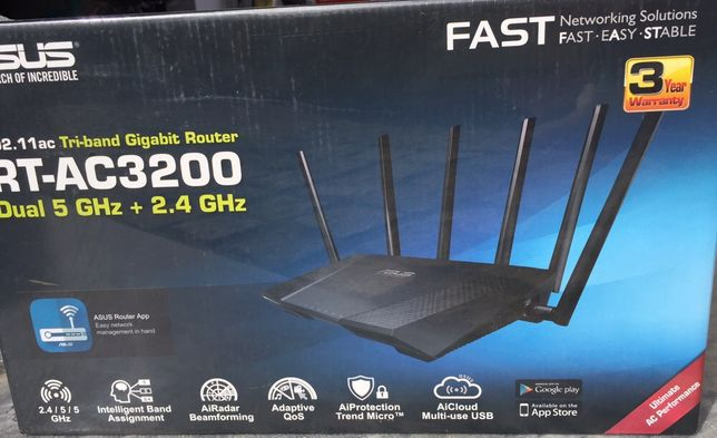 Router asus triband AC3.200