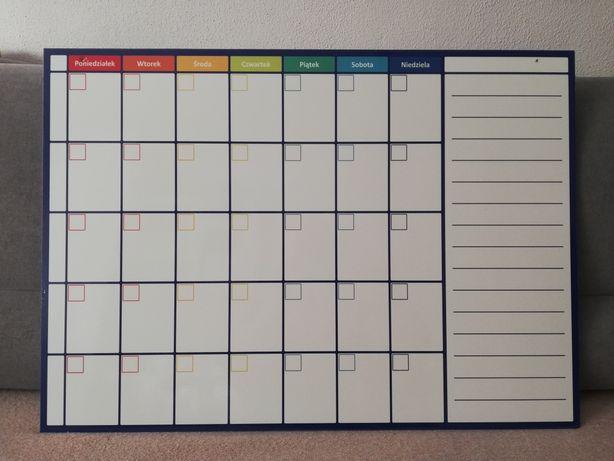 planer miesięczny z pcv 70x50 jak nowy