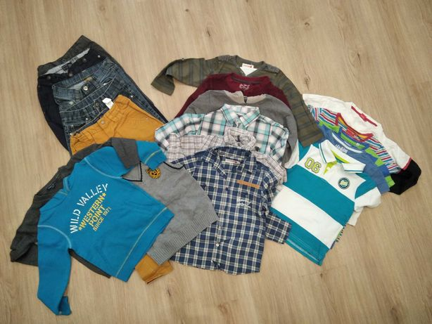 Paka ubrań dla chłopca 116 cm. RESERVED, SMYK - COOLCLUB, H&M