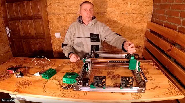 Лазерный гравёр изготовлю на заказ формат А3 и ли А4.