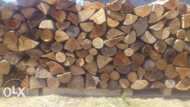 Drewno kominkowe sezonowane , dostawa w cenie ! poukładane !