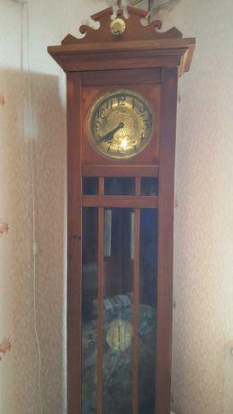 Часы напольные с боем, антикварные, старинные, Германия, ECHO GONG