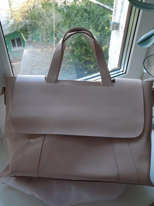 Шикарная сумка пудрового цвета Одесса - изображение 1