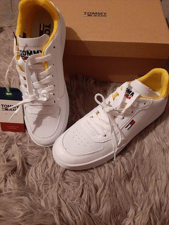 Oryginalne białe buty sportoweTommy hilfiger Nowe sneakersy rozmiar 39