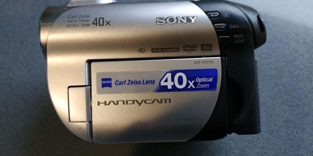 Câmara de filmar Sony de mini disco DVD
