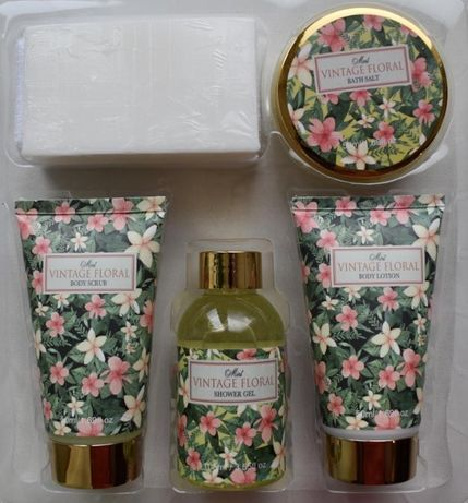 Набор подарочный для ванны Vintage floral