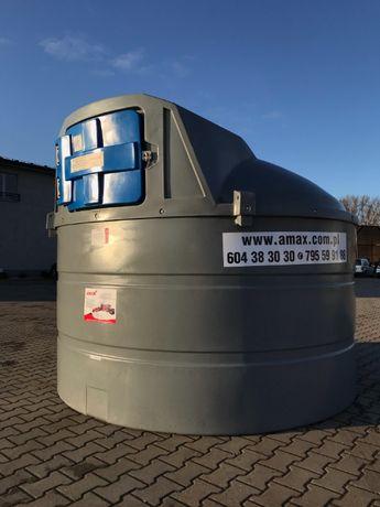 Zbiornik na paliwo olej napędowy 5000l dwupłaszczowy diesel AMAX