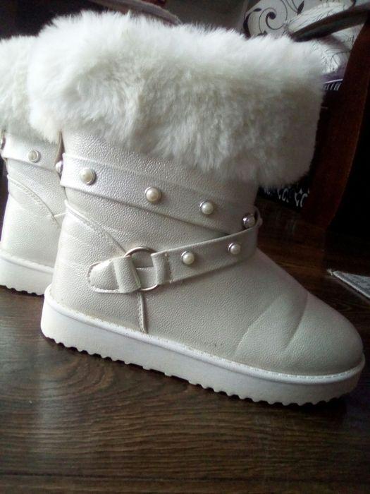Чоботи білі зимові Ивано-Франковск - изображение 1