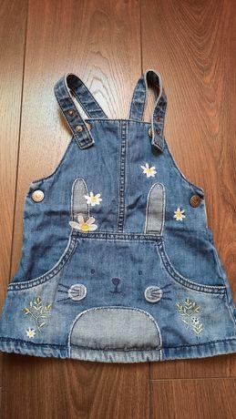 Zestaw sukienek niemowlęcych r.80