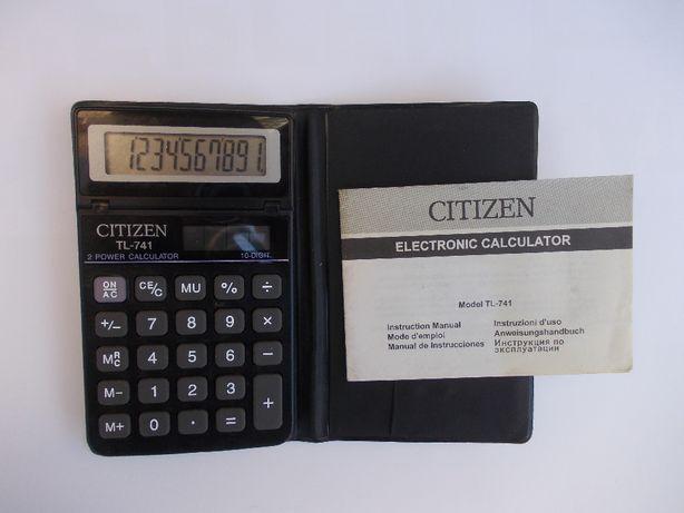 Калькулятор Citizen TL-741, 10-ти разрядный БЕСПЛАТНАЯ ДОСТАВКА