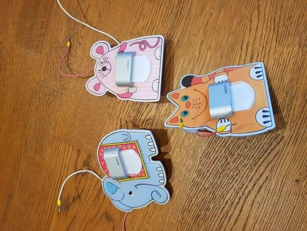 Lampki podtynkowe dla dzieci 5 sztuk