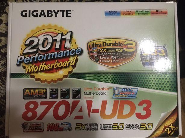 Материнская плата gigabyte 870a-ud3